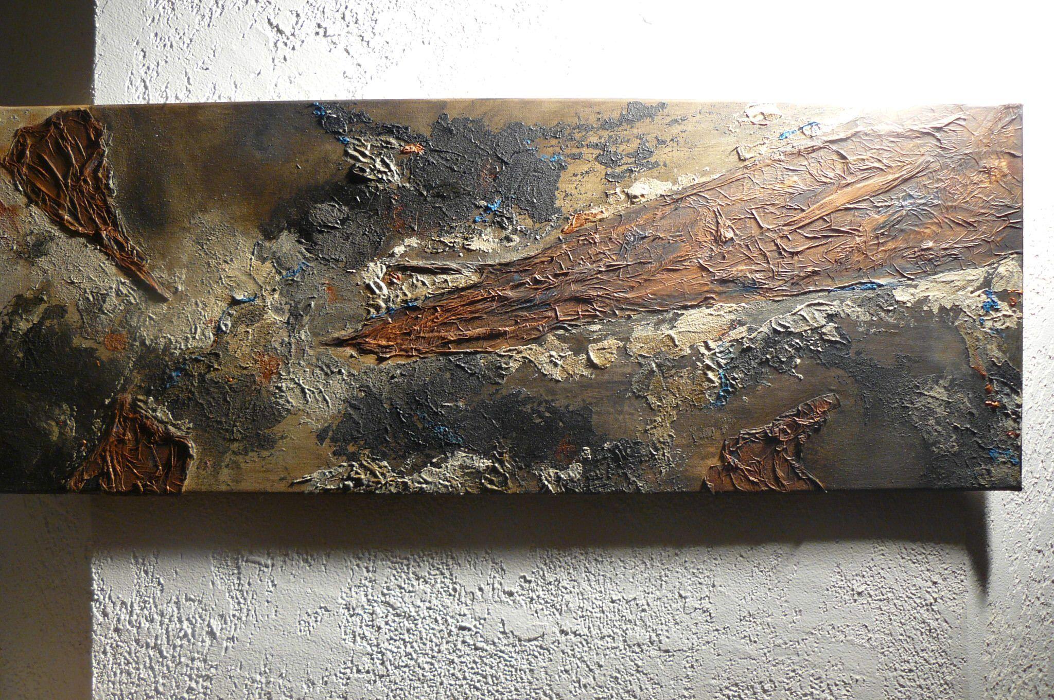 Id es peintures - Peinture avec relief ...